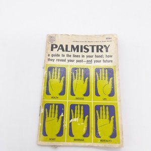 1968 Dell Purse Book Palmistry Palm Reading Guide